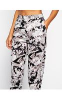 Asos High Waist Trouser in Printed Floral - Lyst