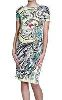Etro Dresses Short Sleeve Jersey Print - Lyst