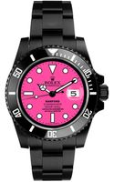 Bamford Black Submariner with Neon Pink Dial - Lyst