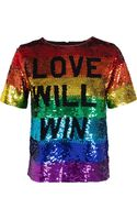 Ashish Love Will Win Sequinned Top - Lyst
