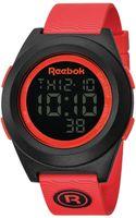 Reebok Mens Digital Pump Orange Polyurethane Strap Watch 42mm Rc-pli-g9-pbpb-bo - Lyst