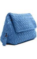 Bottega Veneta Fold Over Messenger Bag - Lyst
