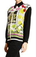Moschino Cheap & Chic Shirt Silk Print - Lyst