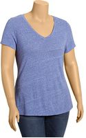 Old Navy Plus Lightweight V-neck Tees - Lyst