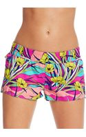 Roxy Printed Shorts - Lyst