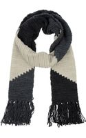 Twin-set Jeans Oblong Scarf - Lyst
