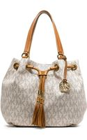 Michael by Michael Kors Jetset Gathered Tote - Lyst