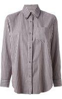 Etoile Isabel Marant Will Striped Shirt - Lyst