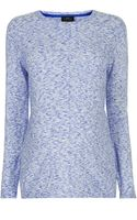 Topshop  Maternity Space Dye Jumper - Lyst