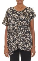 Thakoon Addition Abstractprint Boatneck Tunic - Lyst