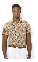 Polo Ralph Lauren Floralprint Jersey Polo Shirt - Lyst