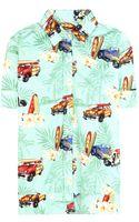 Stella Jean Mela Printed Shirt - Lyst