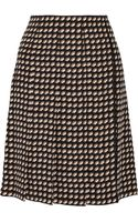 Marc Jacobs Wrapeffect Printed Cady Skirt - Lyst