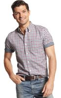 Tommy Hilfiger Insley Plaid Custom Fit Shirt - Lyst