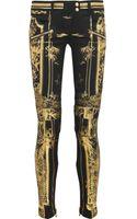 Balmain Metallic Printed Lowrise Skinny Jeans - Lyst