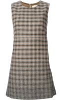 Erika Cavallini Semi Couture Patterned Shift Dress - Lyst