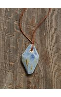 Free People Vintage Blue Stone Necklace - Lyst