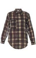 Etoile Isabel Marant Viane Organza Cotton Check Shirt - Lyst