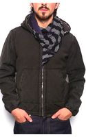 C P Company Cp Company Hooded Puffer Jacket - Lyst