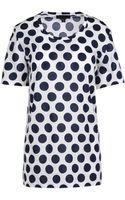 Burberry Prorsum Short Sleeve Tshirt - Lyst
