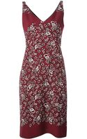 Marc Jacobs Paisley Print Dress - Lyst