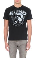 Diesel T-bert Cotton-jersey T-shirt - Lyst