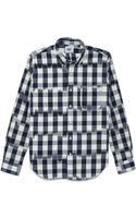 Mark Mcnairy New Amsterdam Long Sleeve Collar Shirt - Lyst