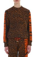 House Of Holland Leopard Sweatshirt - Lyst