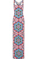 Mara Hoffman Printed Stretchjersey Maxi Dress - Lyst