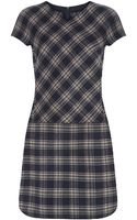 Weekend By Maxmara Orense Tartan Dress - Lyst
