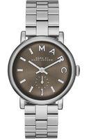 Marc By Marc Jacobs Ladies Baker Stainless Steel Bracelet Watch - Lyst