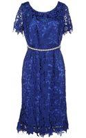 Maria Grazia Severi Kneelength Dress - Lyst