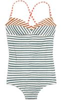 Madewell Tanksuit in Crayon Stripe - Lyst