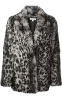 Elizabeth And James Garcia Leopard Print Coat - Lyst