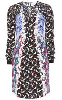 Peter Pilotto Lyo Printed Silk Dress - Lyst