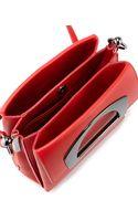 Christian Louboutin Mini Passage Leather Crossbody Bag Red - Lyst