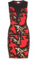 Kenzo Stretch Dress - Lyst