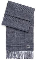 Hugo Boss Jonero  Wool-cashmere Tonal Plaid Scarf - Lyst