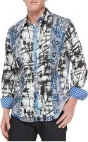 Robert Graham Gia Abstract-print Sport Shirt - Lyst