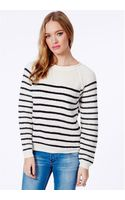 Missguided Joyce Stripe Knitted Jumper - Lyst