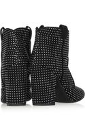 Laurence Dacade Peter Studded Suede Ankle Boots - Lyst