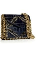 Tory Burch Chain Gusset Shoulder Bag - Lyst