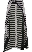Marni Stretch Jacquard Print Long Skirt - Lyst