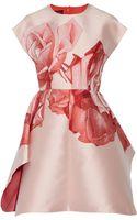 Giambattista Valli Floral-jacquard Mini Dress - Lyst