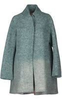 Rose' A Pois Coat - Lyst