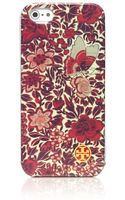 Tory Burch Kyoto Softshell Case For Iphone 5 - Lyst