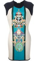 Mary Katrantzou Knipi Racer Dress - Lyst