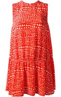Stella McCartney Print Dress - Lyst