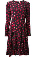 P.a.r.o.s.h. Sepilod Floral Print Dress - Lyst
