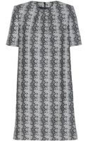 Saint Laurent Wool Dress - Lyst